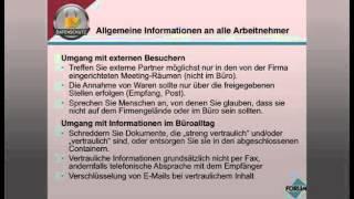Datenschutzschulung - Teil 1