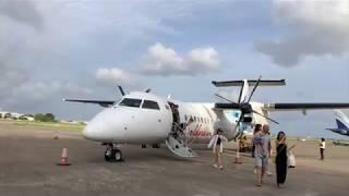Maldivian Airlines Dash 8 - Dharavandhoo to Male Airport, Maldives