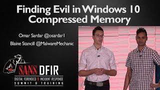 Finding Evil in Windows 10 Compressed Memory