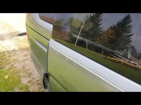 2001 Honda Odyssey Manual Sliding Door Fix Youtube