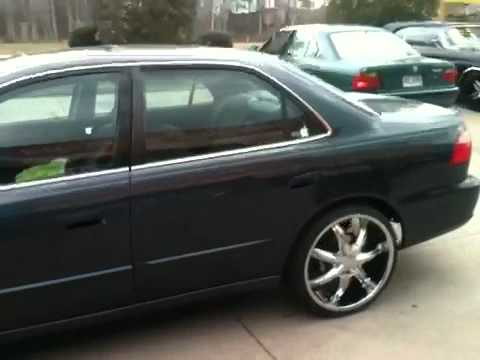 1998 Honda Accord On 20z By Southside Rims Youtube