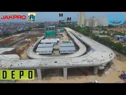 LRT Jakarta (Depo Kelapa Gading -  Velodrome)- Januari 2018