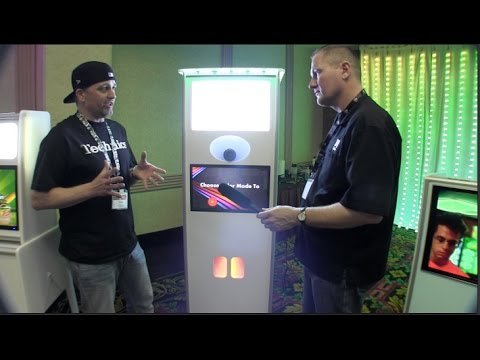 The Atlanta Photo Booth Room from MBLV on Wednesday Night Lighting Chat on #DJNTV