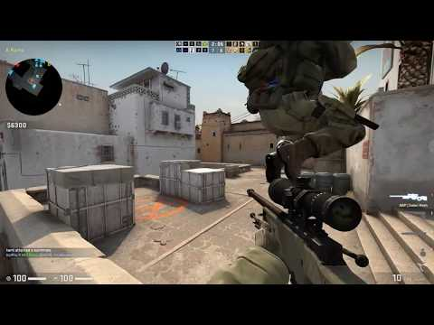 Counter-Strike: Global Offensive AWP Ownage (de_dust2)