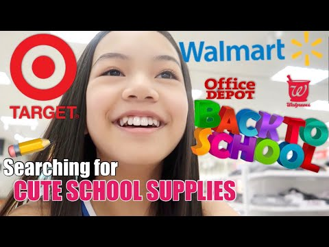 BACK TO SCHOOL SUPPLIES SHOPPING! 2019 ✏️📓📚