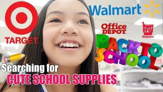 BACK TO SCHOOL SUPPLIES SHOPPING! 2019 ��📓📚