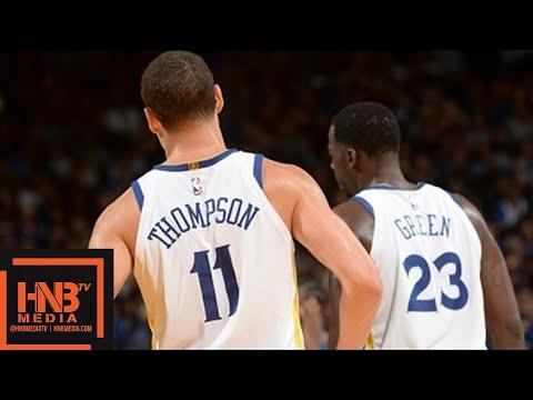 Golden State Warriors vs Sacramento Kings 1st Qtr Highlights / Week 6 / 2017 NBA Season