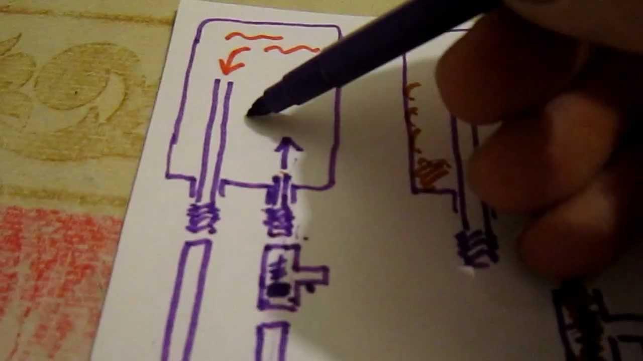 подключение водонагревателя к электро схема видео