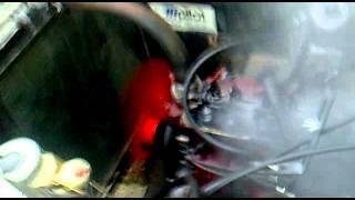 Explosion moteur volvo sur land rover 88