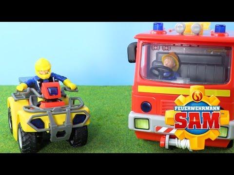 Feuerwehrmann Sam Spielzeug -  Jupiter und Mercury Feuerwehrauto    Werbung