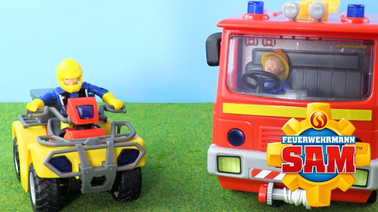 Feuerwehrmann sam spielzeug jupiter und mercury