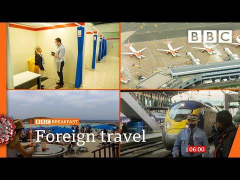 Covid: Hopes for foreign holidays @BBC News live 🔴 BBC