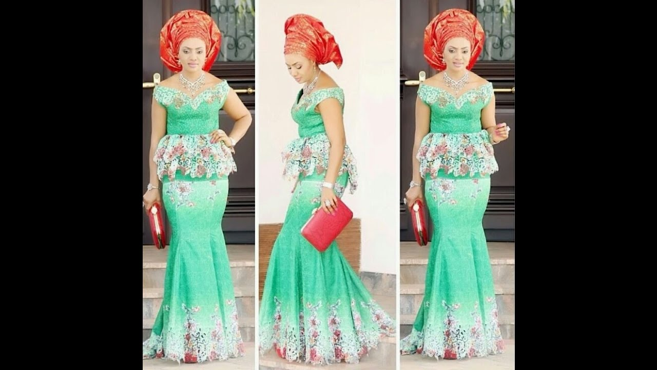 Skirts And Blouses Aso Ebi Styles Ankara Fashion For African Women
