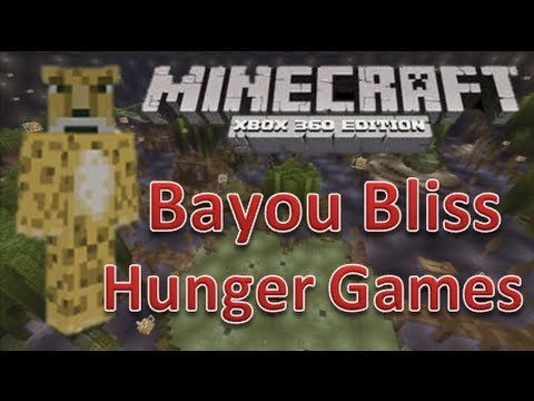 minecraft xbox 360 hunger games bayou bliss map