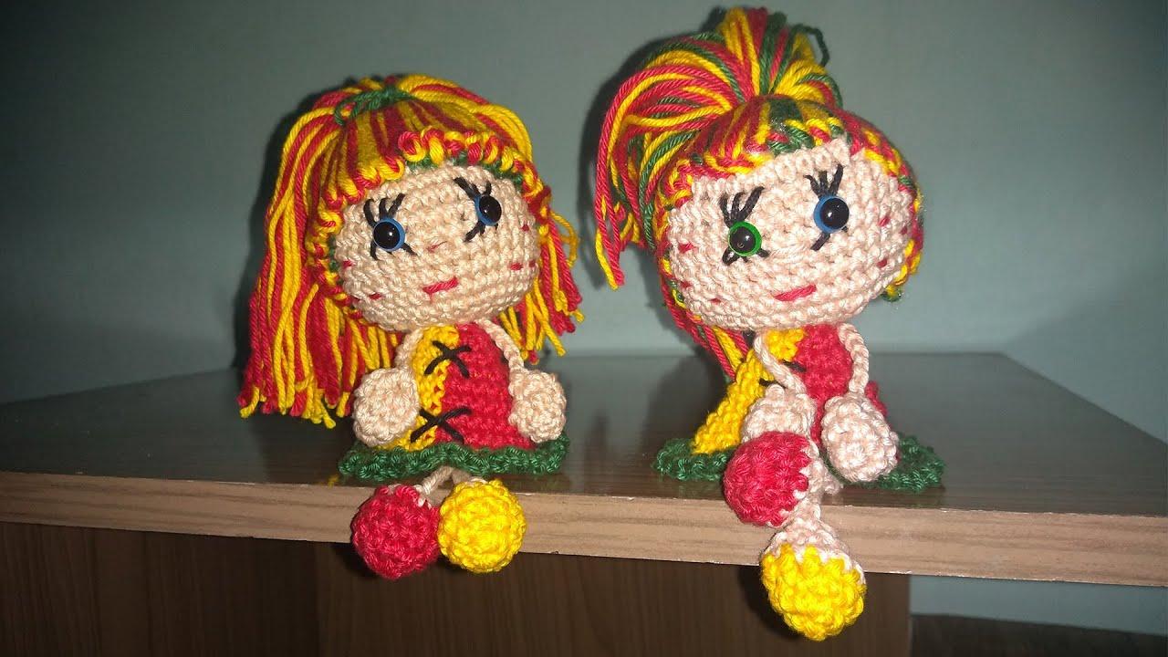 Boneca Emília amigurumi no Elo7 | Abelhinha Crocheteira (AC9D18) | 720x1280