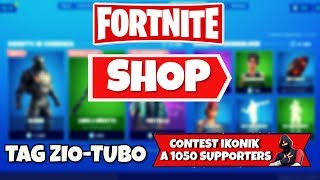 SHOP FORTNITE today September 3rd new SLEDGE skin and pickaxe LAMA TO IMPACT
