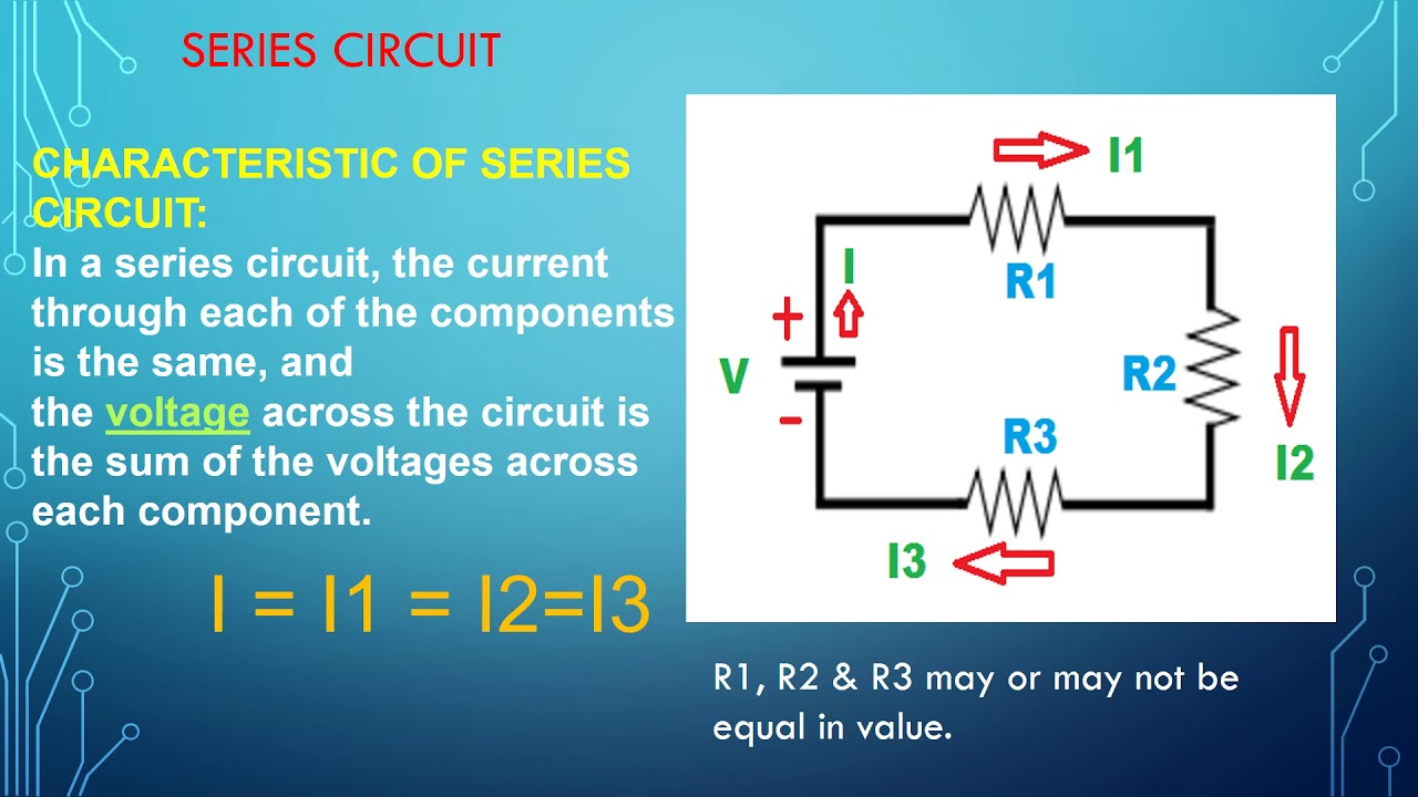Electrical Circuits Series Tutorial 4 English Electric