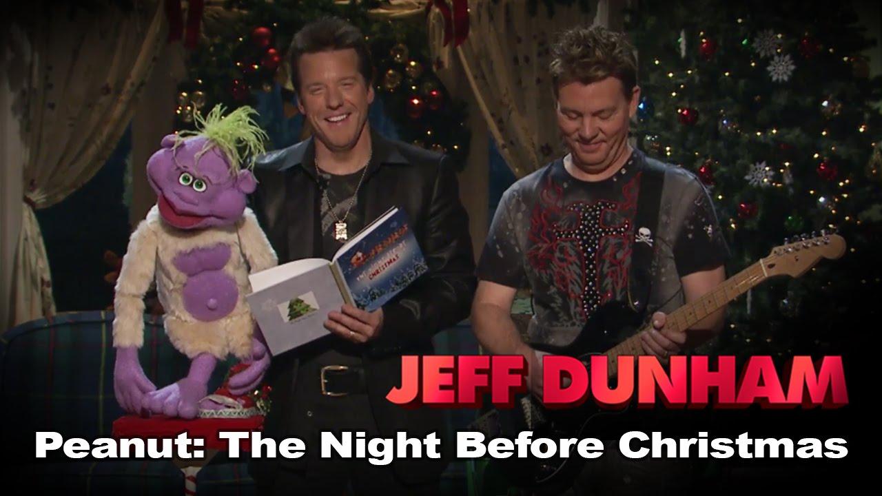 peanut the night before christmas jeff dunhams very special christmas special jeff dunham youtube - On This Night On This Very Christmas Night