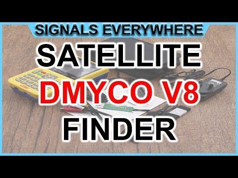 DVB-S/2 v8 Finder Digital Satellite Finder used as a Digital Amateur TV Receiver