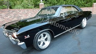 1967 Chevrolet Chevelle SS triple black, for sale Old Town Automobile in Maryland