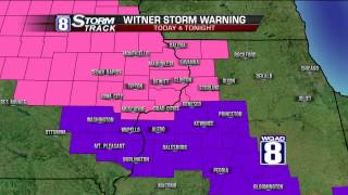 StormTrack 8 Morning Forecast January 5, 2015