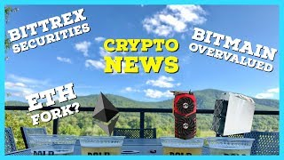 Crypto News | ETH Fork | Mining Algorithm Change? | Bitmain Overvalued | Bittrex Securities