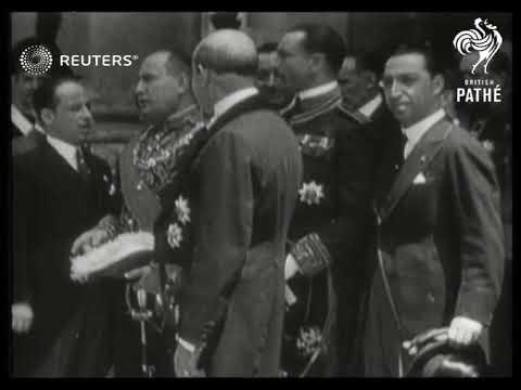 VATICAN: Exchange of Lateran Treaties between Italy and the Vatican (1929)
