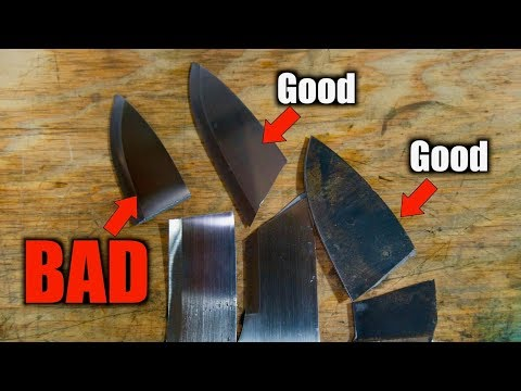 Why Knife Makers Should Break Their Knives