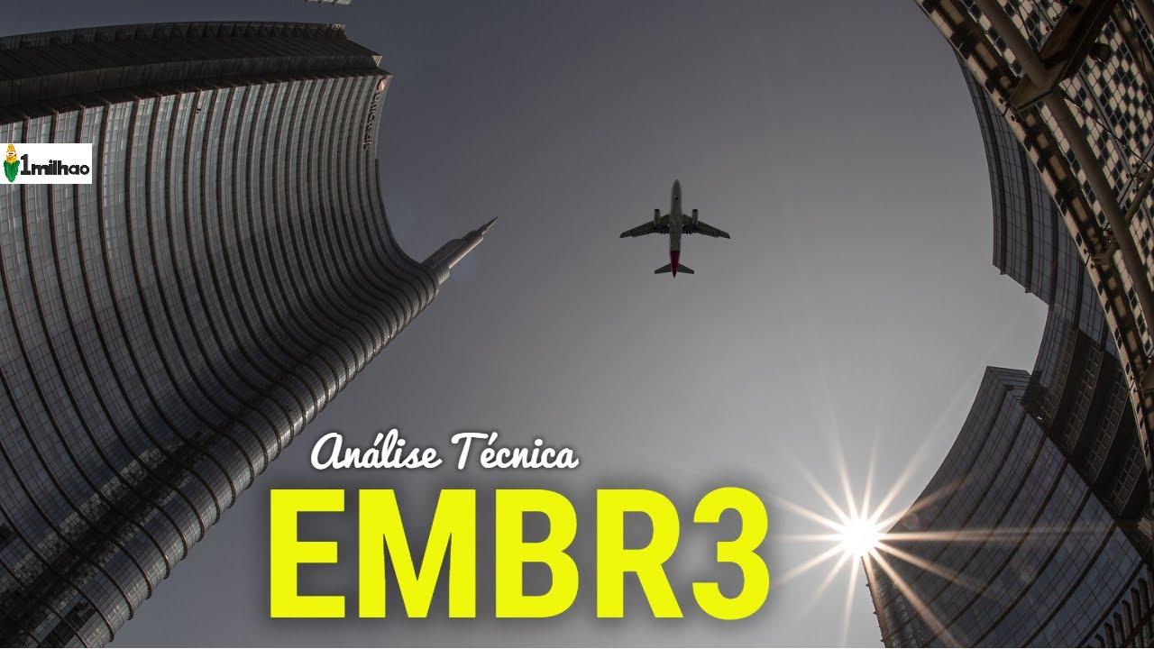 EMBR3 ATUALIZAMOS NOSSA ANÁLISE TÉCNICA DAS AÇÕES DA EMBRAER EMBR3 - TEM  EMBR3 OU PENSA EM COMPRAR? - YouTube