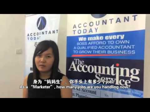 Accountantz Today's License Partner From JB - Lina Is Earning More Than RM10k