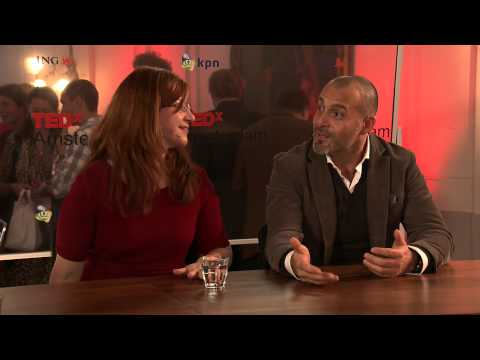 TED xAmsterdam 2012 interview Desiree Dudley & Igor Beuker