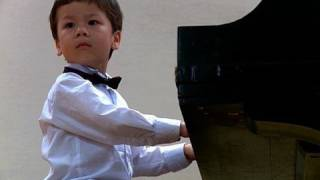 3-year Old Piano Prodigy Richard Hoffmann