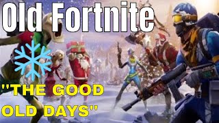 OLD Fortnite Gameplay (SEASON 2 - CHRISTMAS UPDATE)