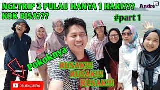 Download NGETRIP 3 PULAU HANYA 1 HARI,  PULAU KELOR, ONRUST DAN CIPIR #PART1
