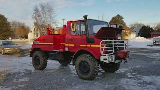 1988 Mercedes-Benz Unimog Pre Pruchase by Car Inspected (1/2)