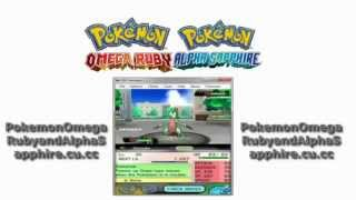 Download Pokemon Omega Ruby and Alpha Sapphire ROM +