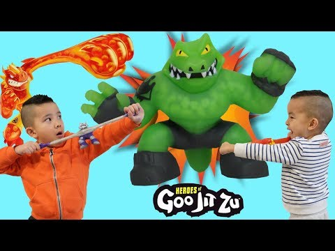 Squishy Gooey Stretchy Fighters Heroes Of Goo Jit Zu Fun With CKN Toys