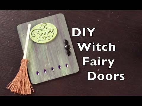How To Decorate A Fairy Door