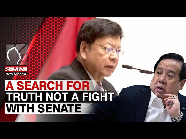 Marcoleta: House inquiry on Covid-19 procurement a search for truth not a fight with senate