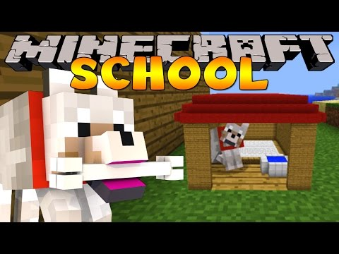minecraft-school-:-pet-doggy-training!