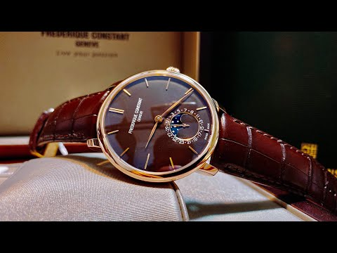 [ Review Đồng Hồ ] Frederique Constant SlimLine Moonphase 18k FC-705C4S9 | TIMEWISE