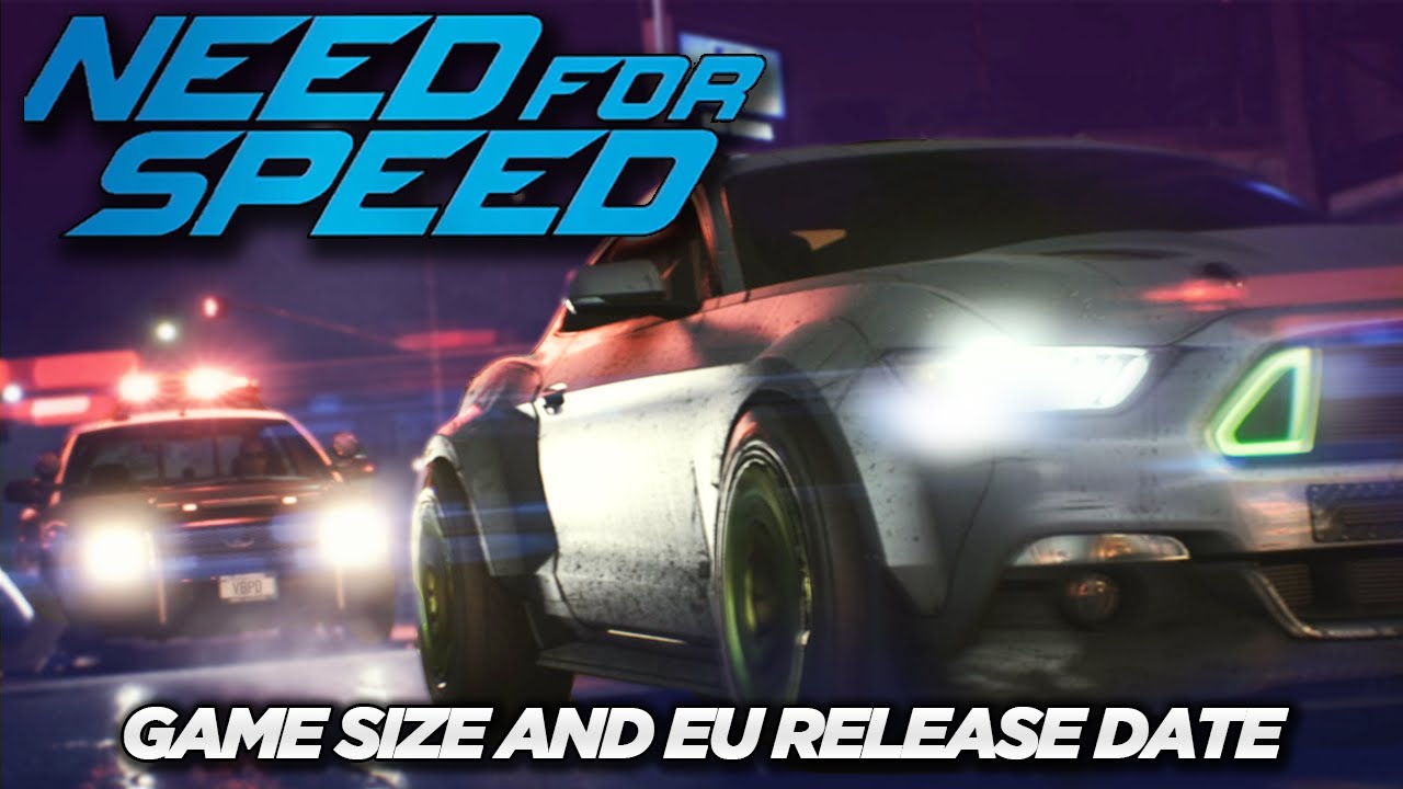 New need for speed release date in Brisbane