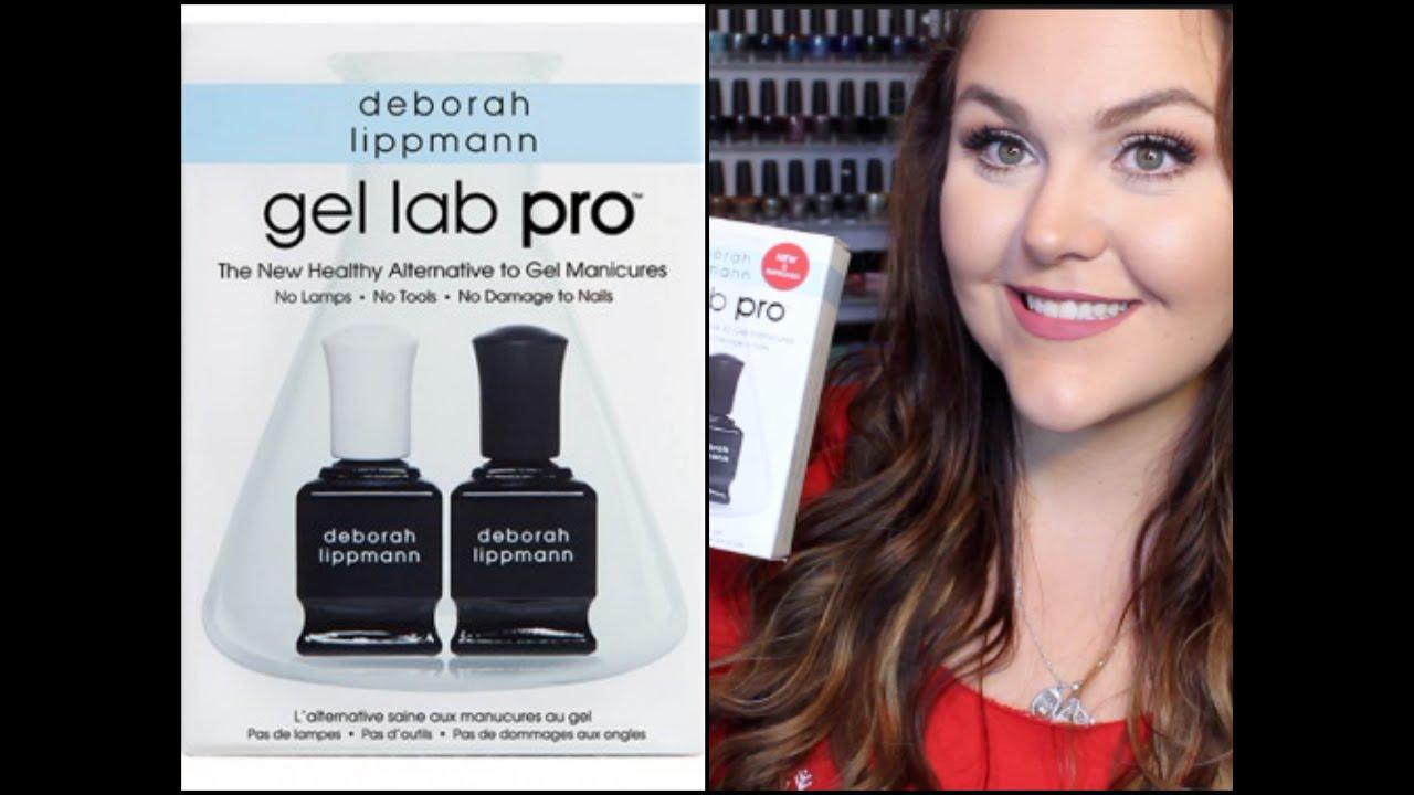 Deborah Lippmann Gel Lab Pro First Impression + Review!! - YouTube