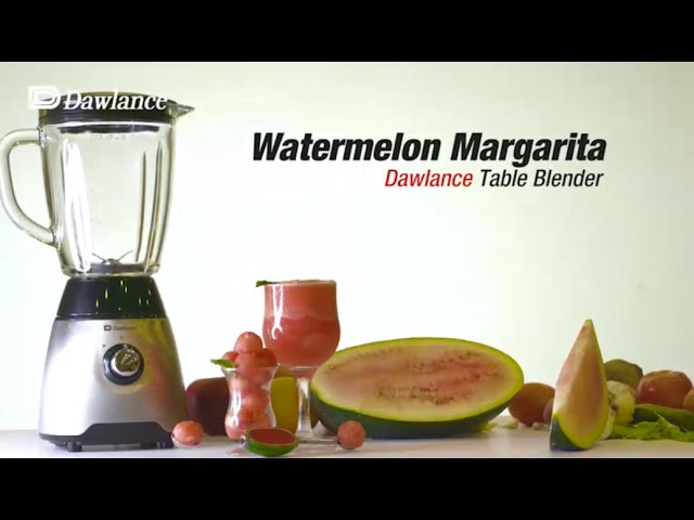 Get Set Cook | Watermelon Margarita | Table Blender DWTB 620I