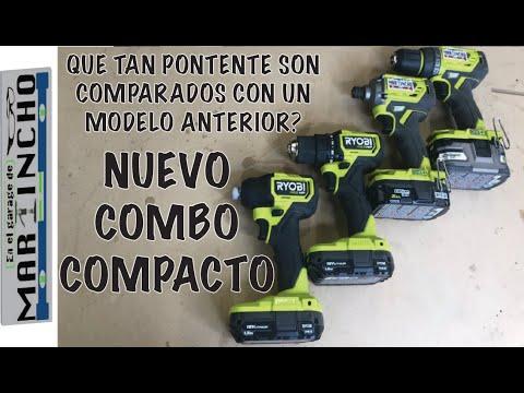 Nuevos Taladros COMPACTOS de RYOBI