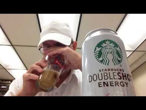 The Beer Review Guy# 714 Starbucks Double shot White Chocolate Energy Coffee Beverage