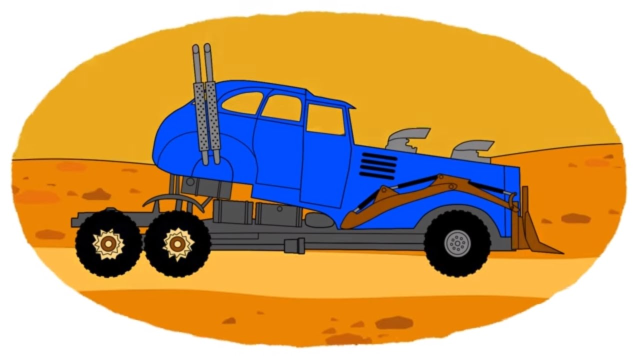 Zeichentrick-Malbuch - die Monster-Laster - YouTube