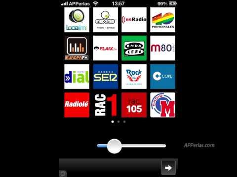 Radios España FM, las mejores Radios de España en tu iPhone