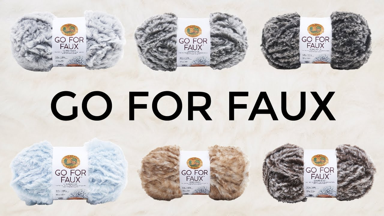 This Just In! Go For Faux Yarn | Lion Brand Notebook