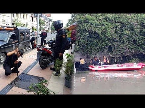 Aksi Tepergok, Pelaku Pencuri Motor Kabur Ceburkan Diri ke Sungai dan Bersembunyi di Gorong-gorong Mp3